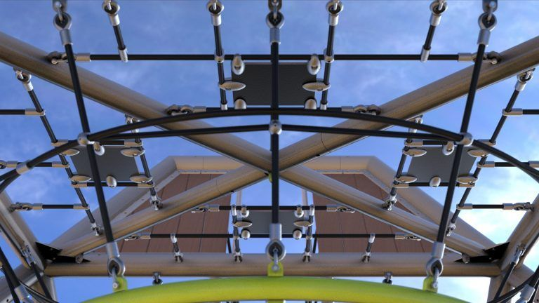 Under GSX playground structure
