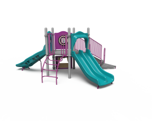small playground with 3 slides KB20-72376 (KB2072376)