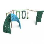 green playground addition NRG20-72384 (NRG2072384)
