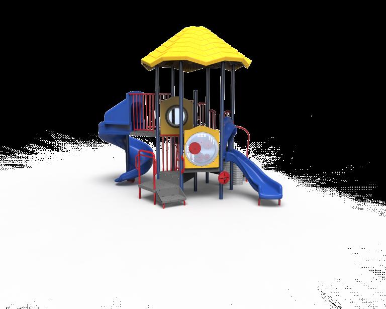 playground with plastic shade umbrella PB20-72360 (PB2072360)