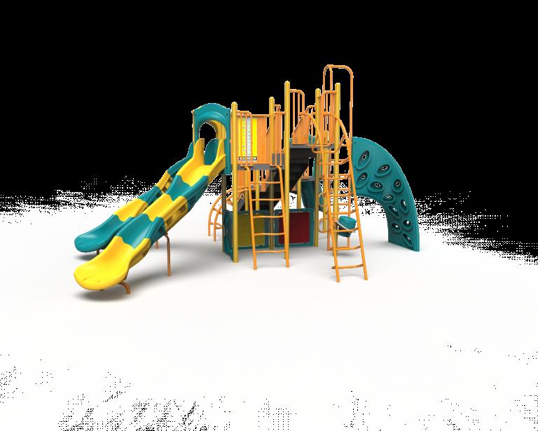 green and yellow playground PB20-72364 (PB2072364)
