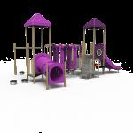 Purple and tan playground PB20-72370 (PB2072370)