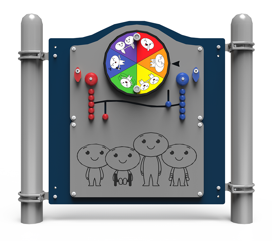 Simon Says interactive playground panel