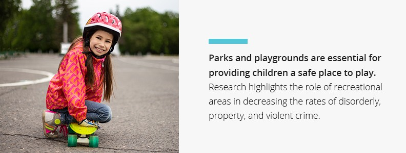Provide a safe place to play