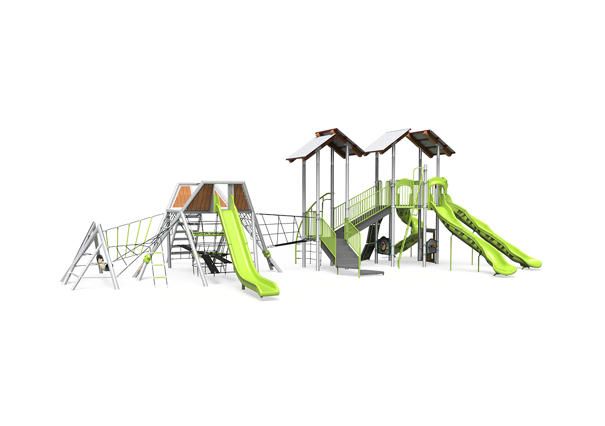View of the whole playground