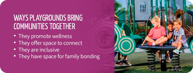 Why playgrounds bring communities together