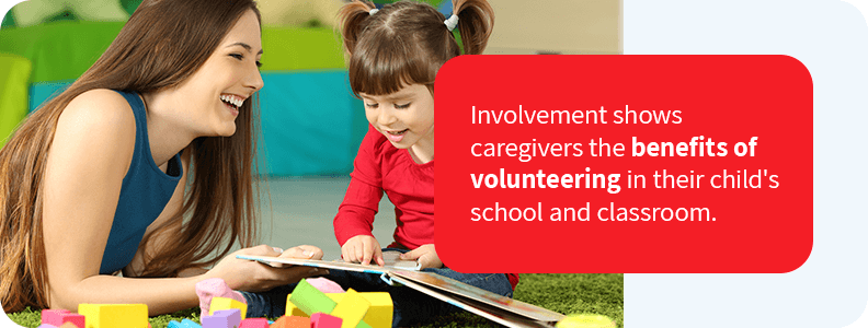 Encourage involvement in your daycare