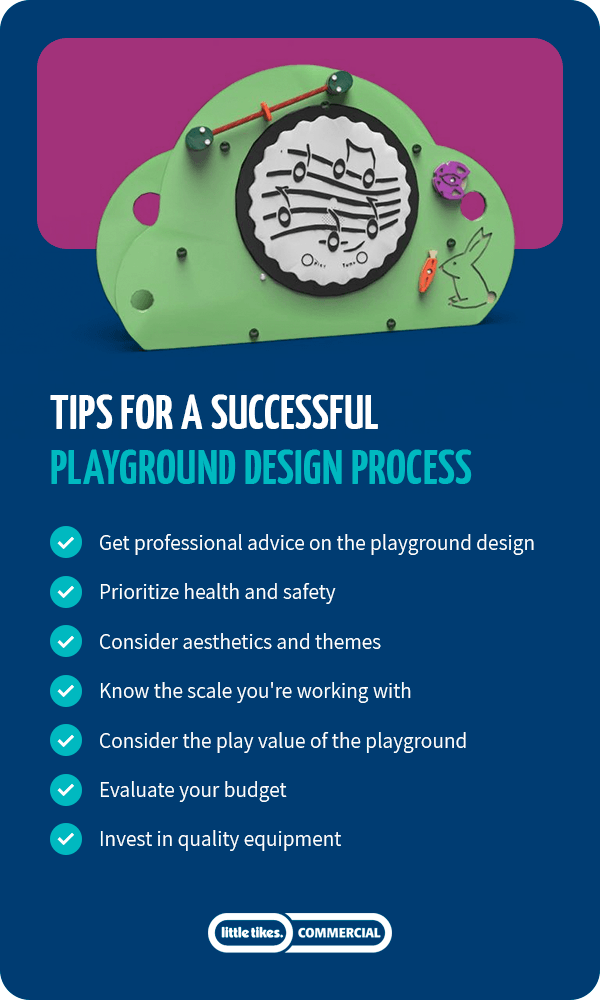 Tips for successful playground design